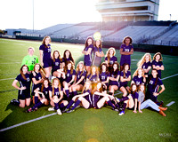 Girls Soccer Team Shots