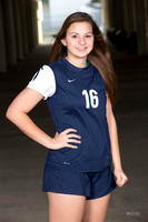 KHS Girls Soccer Teams and Headshots