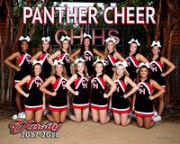 CHHS Cheer Portraits