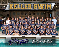 KHS Swim Team and Individual Pics